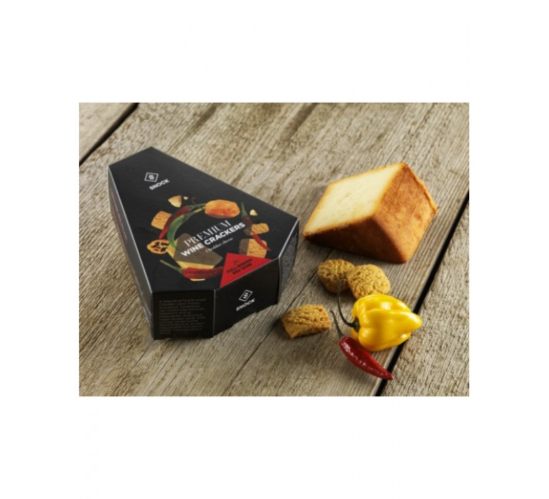 Prémium snack - Füstölt Cheddar sajtos-chilis